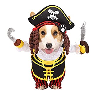Pet Halloween Pirates DogCostume (Small)
