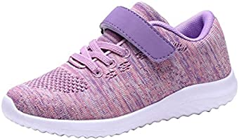 Umbale Girls Fashion Sneakers Comfort Running Shoes(Toddler/Kids)