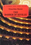 The Barber of Seville by Gioacchino Rossini front cover