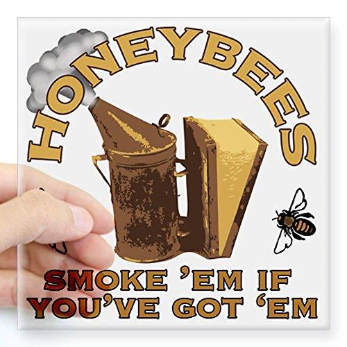 Honeybee Smoke Em Sticker
