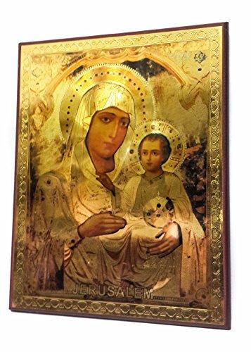 Virgin Mary Jesus Icon - 2