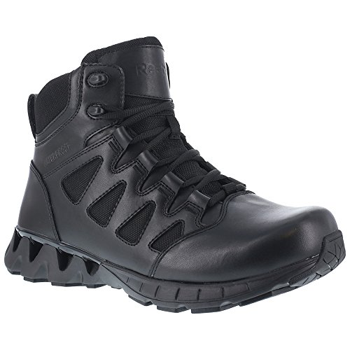 Reebok Work Women's Zigkick Tactical Waterproof Black Boot 7 B (M) by Reebok