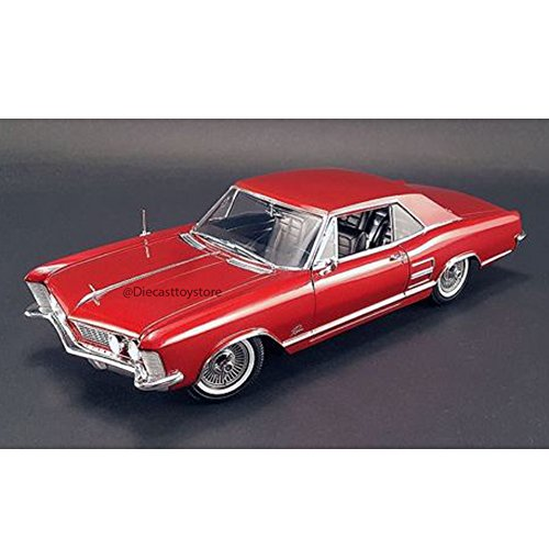 Tommy Ivo's 1964 Buick Riviera Signed Diecast Model Car by Acme in 1:18 Scale