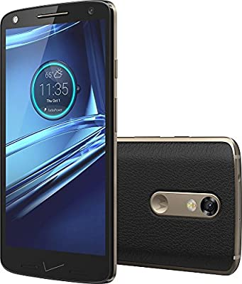 Motorola DROID Turbo 2 XT1585 32GB - Black Leather (Verizon Wireless)