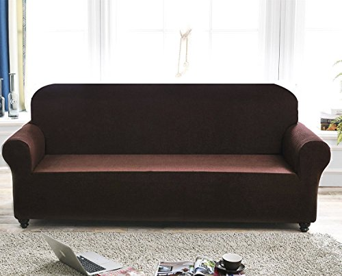 Chelzen Stretch Sofa Covers 1 Piece Polyester Spandex