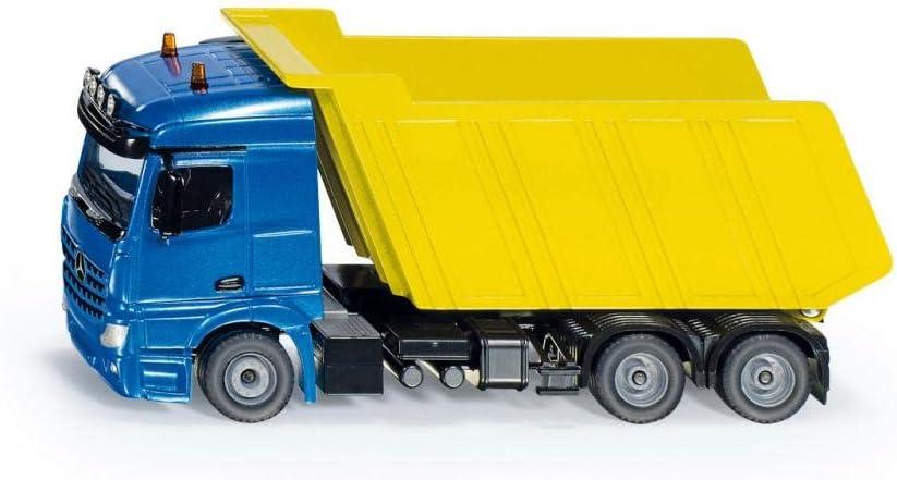 siku 3549 Camión volquete, 1:50, Metal/Plástico, Azul/Amarillo