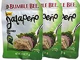 Bumble Bee Jalapeno Seasoned Tuna, 2.5 Ounce 3-Pouches