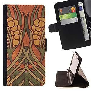 "For Samsung Galaxy J3(2016) J320F J320P J320M J320Y,S-type Pared de la pintura Arte Antiguo"" - Dibujo PU billetera de cuero Funda Case Caso de la piel de la bolsa protectora"