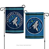 Wincraft Minnesota Timberwolves 2 Sided Logo Nba Garden Flag 19934127