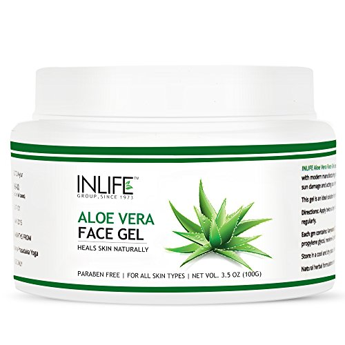 INLIFE Aloe Vera Gel, Paraben Free – 100 g