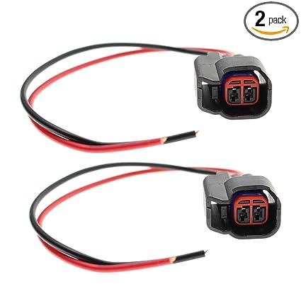 Amazon.com: MOTOALL 2pcs Fuel Injector Wire Repair Harness Kit ...