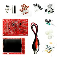 """DSO138 Open Source 2.4"""" TFT Digital Oscilloscope Kit 1Msps with Probe Assembled vision (Welded)Suitable For Electronic Beginner"""
