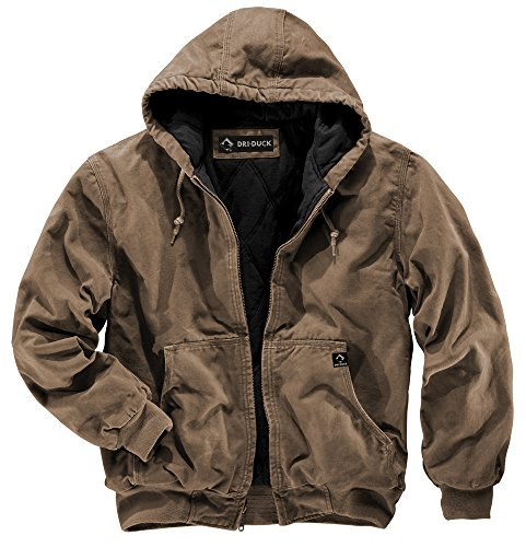 Dri-Duck Men's Cheyenne Jacket, Field Khaki, 5X-Large