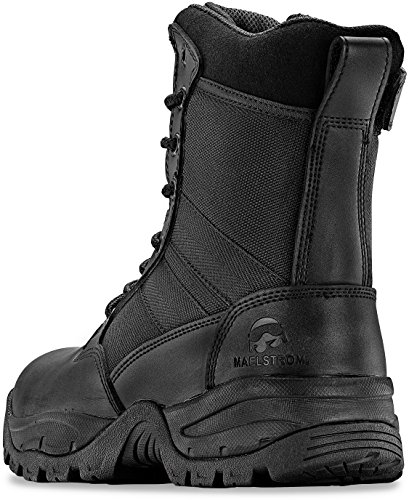 Maelstrom Tac Force 8'' Women's Black Waterproof Boots With Zipper – Military, Work & Tactical Boots – Athletic, Breathable, Durable, Comfortable & Lightweight Boots For Women, Size 8.5M by Maelstrom (Image #4)