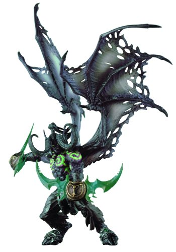 World of Warcraft Deluxe Collector Figure: Illidan (Demon Form)(Discontinued by manufacturer)
