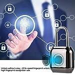 Rosvola-Lucchetto-Intelligente-per-Impronte-digitali-Lucchetto-Impermeabile-Senza-Chiave-antifurto-IP66-per-casa-da-Viaggio-allaperto
