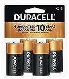 : Duracell  Coppertop C Alkaline Batteries, 4 Count
