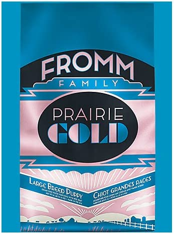 Fromm Family Foods 727071 26 Lb Prairie Gold Large Breed Dry Puppy Food 1 Pack , One Size
