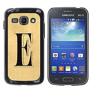Funda para Smartphone carcasa rígida cubierta protectora para Samsung Galaxy Ace 3/funda TECELL Store/e de letra cada Elena ellie de pergamino
