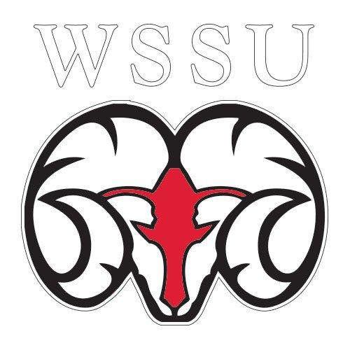 CollegeFanGear Winston Salem Extra Large Decal 'WSSU Ram' by CollegeFanGear