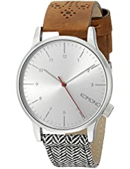 KOMONO Unisex KOM-W2201 Winston Galore Series Analog Display Japanese Quartz Multi-Color Watch