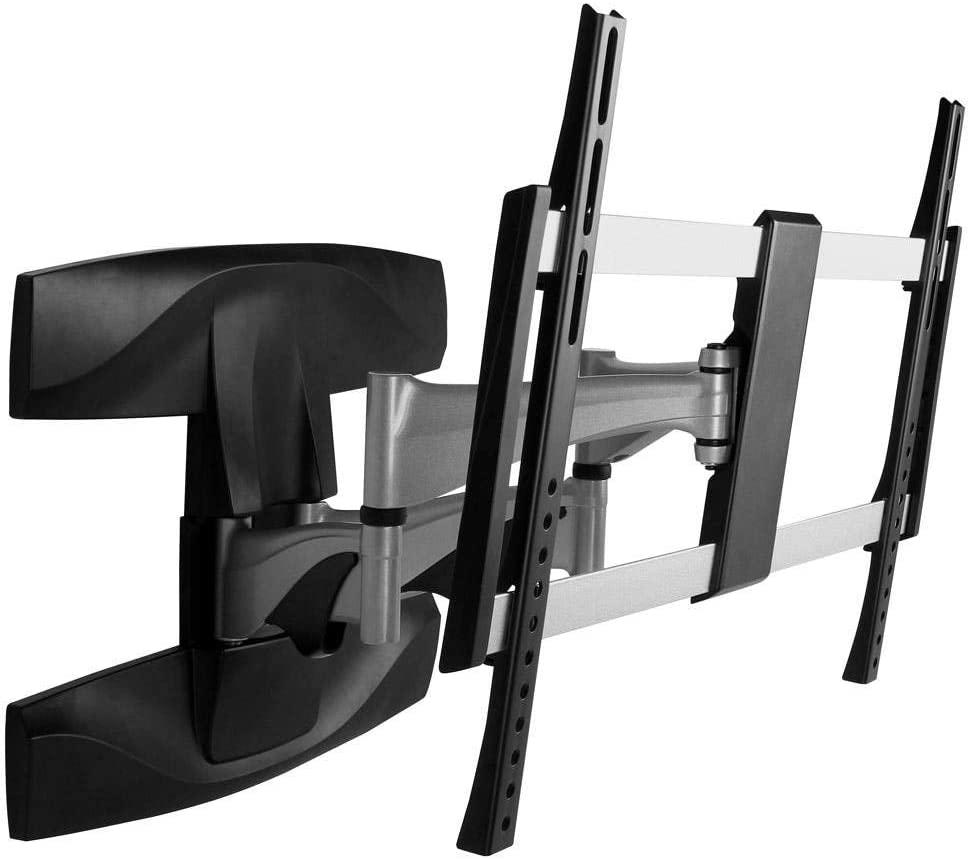 Monoprice Full-Motion Articulating TV Wall Mount Bracket – for TVs 37in to 70in Max Weight 99lbs Extension Range of 2.1in to 17.6in VESA Patterns Up to 600×400 UL Certified