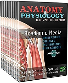 Anatomy and Physiology I & II DVD and Videos DVD-ROM – Box set, 2014