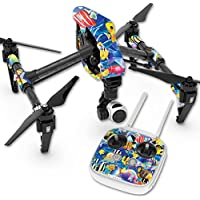 Skin For DJI Inspire 1 Quadcopter Drone – Tropical Fish | MightySkins Protective, Durable, and Unique Vinyl Decal wrap cover | Easy To Apply, Remove, and Change Styles | Made in the USA