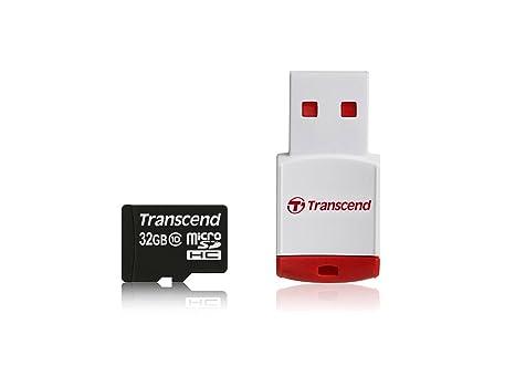 Transcend TS32GUSDHC10-P3 - Tarjeta microSD de 32 GB: Amazon.es ...