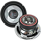 Pyramid PW677X 6-inch 300W Subwoofer (Pair)