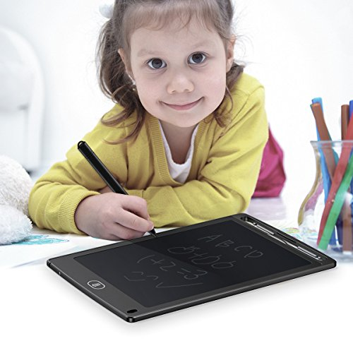 lcd writing tablet, Ombar 8.5 8.5-inch Lcd Writing Tablet for Kids, Black by Ombar (Image #7)