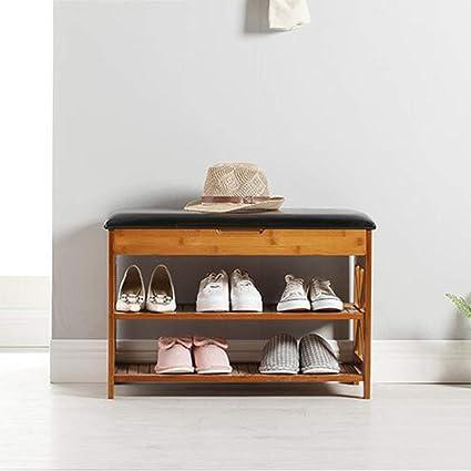 Amazoncom Xqy Household Wooden Shoe Rack Shoe Cabinet Shoe