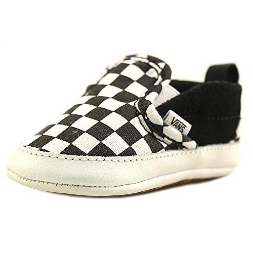 Vans Infant Checker Slip-On Black/True White Crib Size 2 -