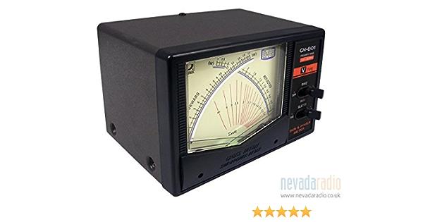 Daiwa CN-801VN serie profesional 140 - 525 mhz VHF/UHF entresaca