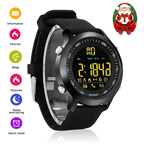 Bluetooth Smartwatch Smart Wrist Watch Smartwatch Phone Fitness Tracker with Steps Counting Stopwatch Remote Camera for iPhone iOS Samsung Android for ...