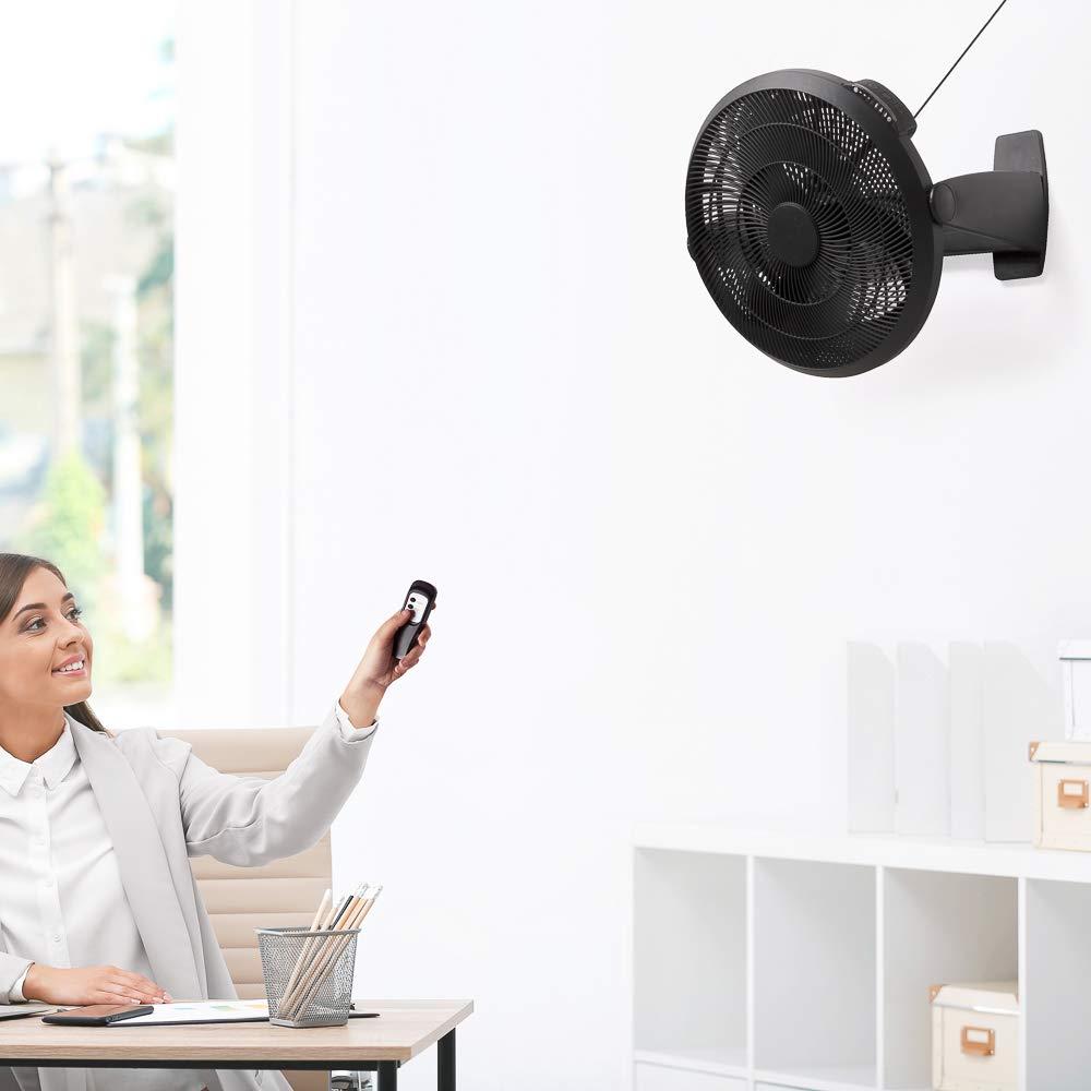 50 cm Dmail Ventilatore con Telecomando e Timer