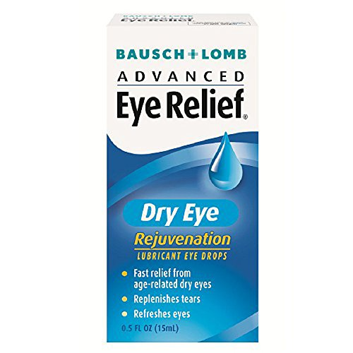 Advanced Eye Relief, Dry Eye Rejuvenation, Lubricant Eye Drops, 0.5 fl oz (15 ml) (Americas Best Eye Reviews)