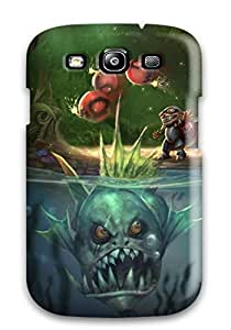 Anti-scratch And Shatterproof Ziggs Phone Case For Galaxy S3/ High Quality Tpu Case