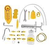 Vbestlife Kit de Herramienta de Purga de Bicicleta, Kit de Herramienta de Reparación de Purga de Aceite hidráulico de Freno de Disco de Bicicleta hidráulica