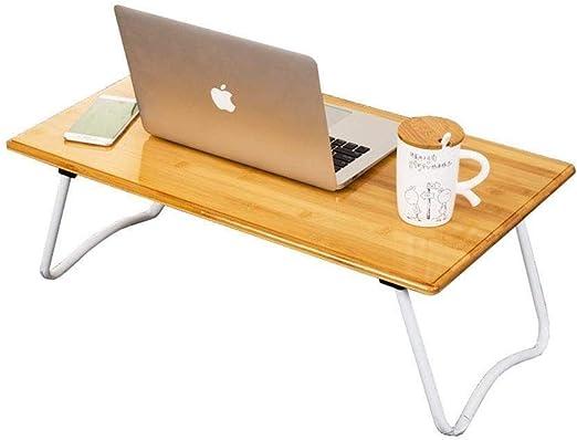 RMJAI Mesa portatil Portátil plegable Bandeja de mesa portátil ...