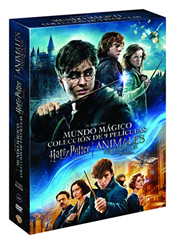 Pack Harry Potter (1-8) + Animales Fantásticos [DVD]: Amazon.es ...