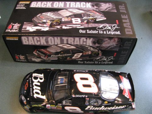 Dale Earnhardt Jr #8 Black Bud Budweiser 3 Days of Dale Talladega Salute To A Legend Dale Earnhardt Sr 1/24 Scale Diecast Hood Opens (Trunk DOES NOT open on Action RCCA Club Car) Limited Edition Only 3333 Produced RCCA Club Car Action Racing Collectables ARC