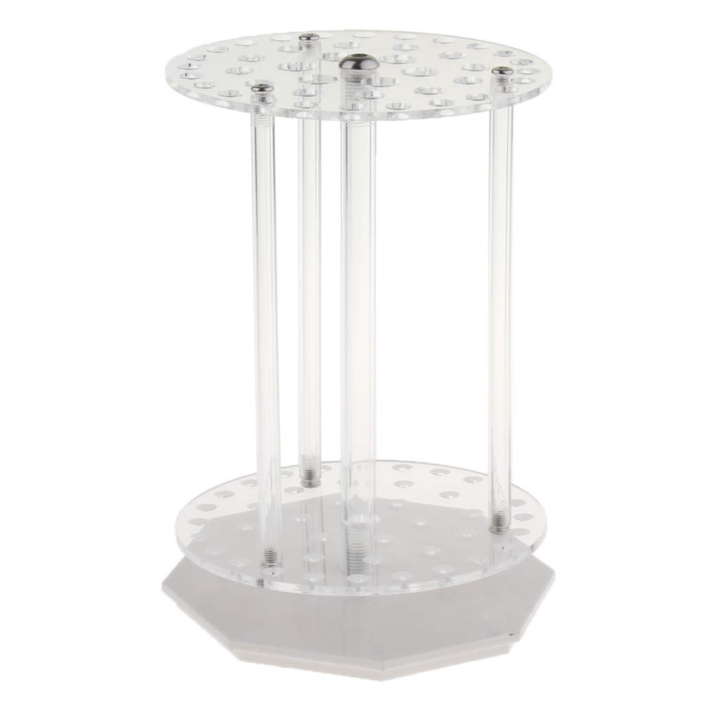 gazechimp 1Pc Circular PMMA Transparent Removable Pipette Rack, Can Place 6 Pipettes