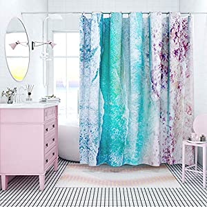 51SOdYiHlyL._SS300_ 200+ Beach Shower Curtains and Nautical Shower Curtains