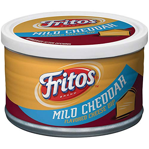 Fritos Mild Cheddar Flavored Cheese Dip (9 oz. ea., 6 pk.) - SCL
