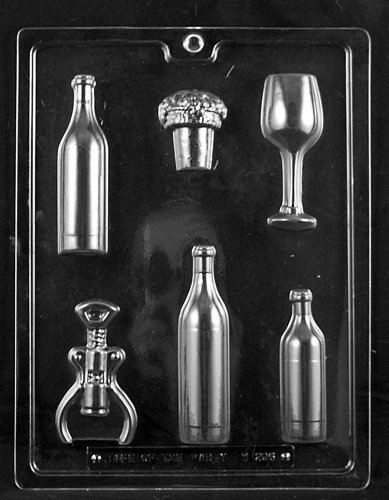 Wine Bottle glass screw chocolate product image