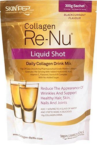 SkinPep Collagen Re-Nu Liquid Shot Sachet 300g - 30 Day Supply - The...