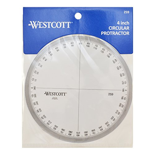 Westcott Protractor Measuring Tool (259) by Westcott (Image #2)