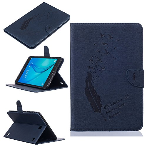 Super Slim Case Cover for Samsung Galaxy Tab A 8-Inch Tablet SM-T350 Navy Blue - 3