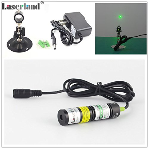 532nm 30mW-50mw Green Laser dot Module Diode + adapter + Heatsink 2 hours by laserlands